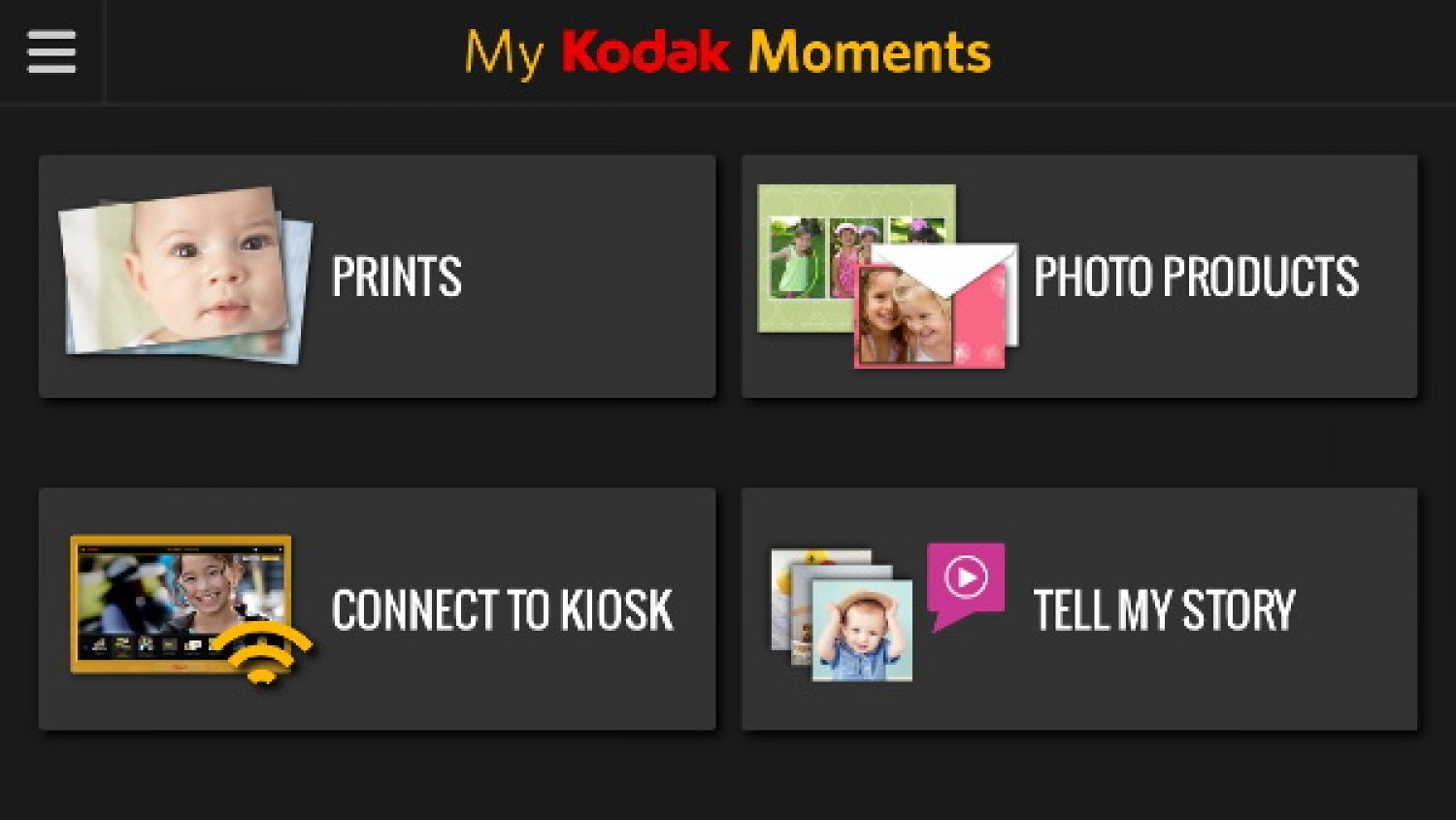 Kodak Moments aplicacion 005