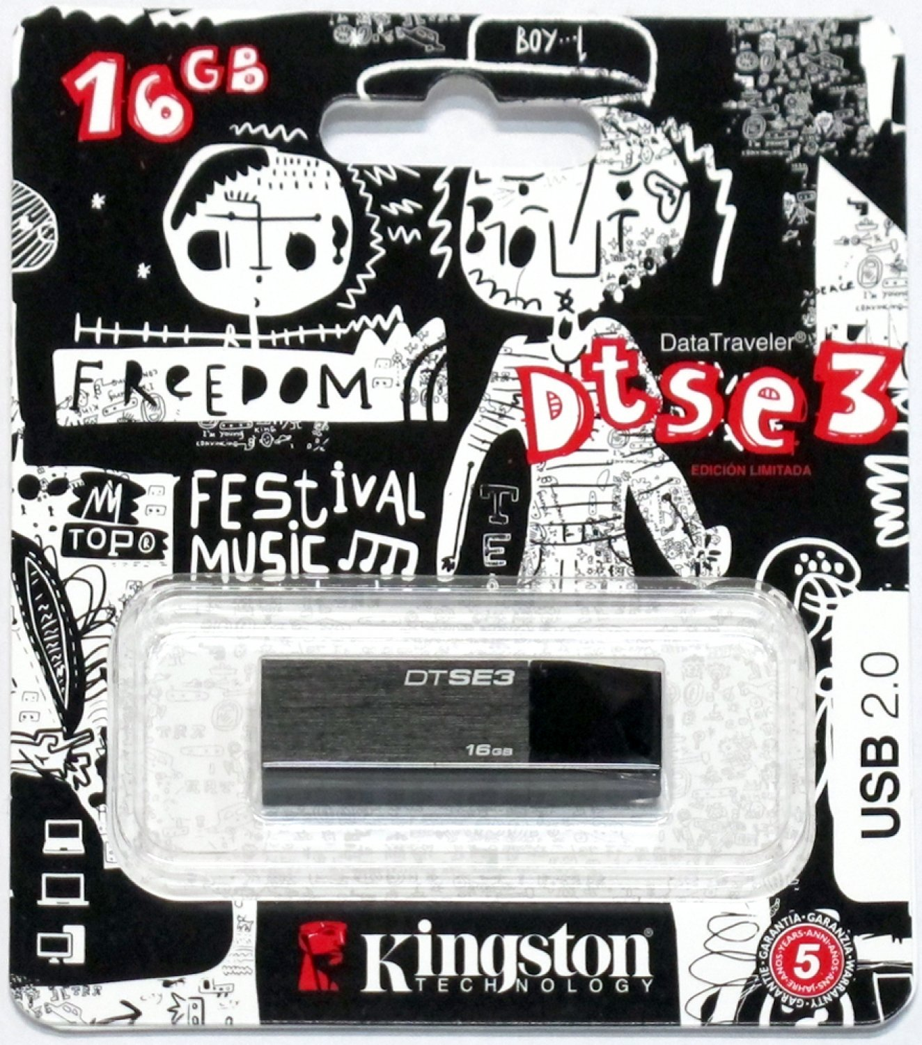 Pendrive Kingston DTSE3 16gb 002